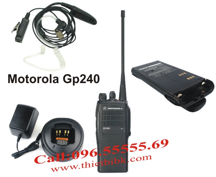 Bo dam Motorola GP240 dung chung phu kien voi Bo dam Motorola GP328 GP340