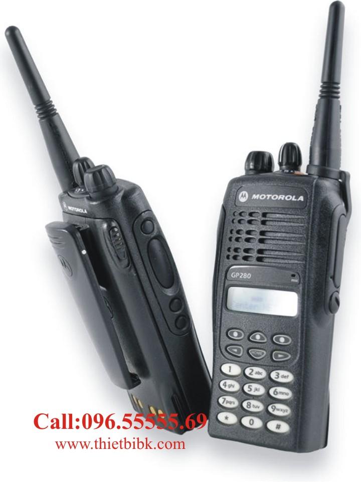 Bộ đàm Motorola GP280 dùng trong nghành viễn thông