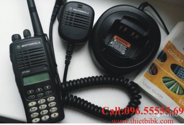 Bo dam Motorola GP280 phu kien dung chung Bo dam Motorola GP338