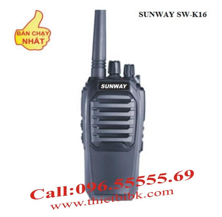 Bộ đàm SUNWAY SW-K16 High Power 8W
