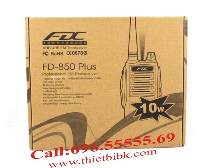Bộ đàm cầm tay FEIDAXIN FD-850Plus – 10W box