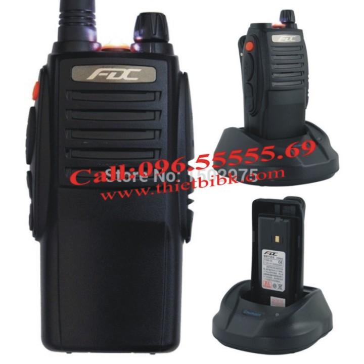 Bộ đàm cầm tay FEIDAXIN FD-850Plus – 10W với Pin Li-ion 3500mAh