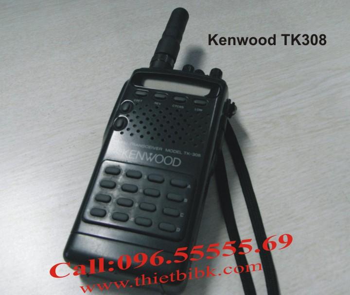 Bộ đàm cầm tay Kenwood TK308 99 kênh 7W dùng cho sân bay, cảng biển