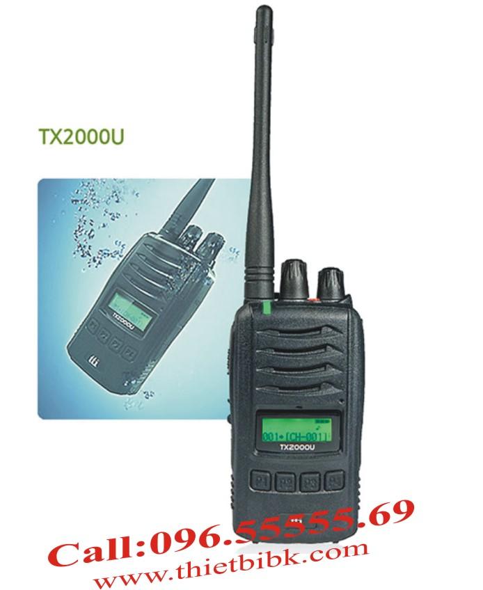 Bộ đàm chống nước chuyên dụng TTI TX-2000U – Tiêu chuẩn IP 67 chống nước và bụi bẩn