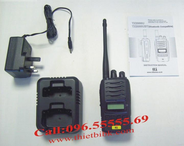 Bộ đàm chống nước chuyên dụng TTI TX-2000U full