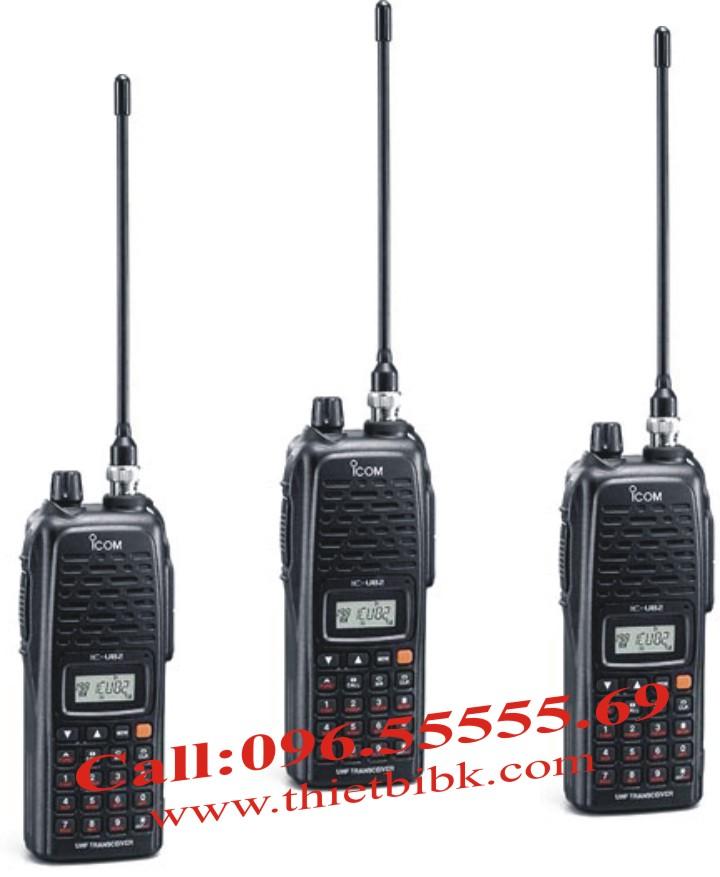 Bộ đàm iCOM IC-U82 UHF dùng cho liên lạc trong tòa nhà cao tầng