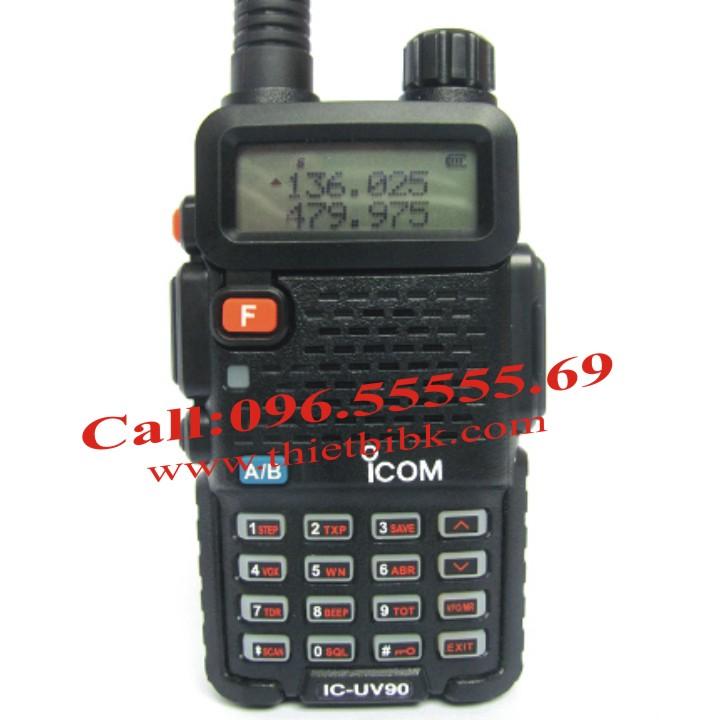 Bộ đàm iCOM IC-UV90 dùng cho khu du lịch, bệnh viện, trường học