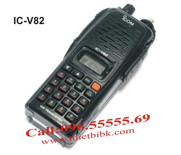 Bộ đàm iCOM IC-V82 VHF dùng cho bảo vệ
