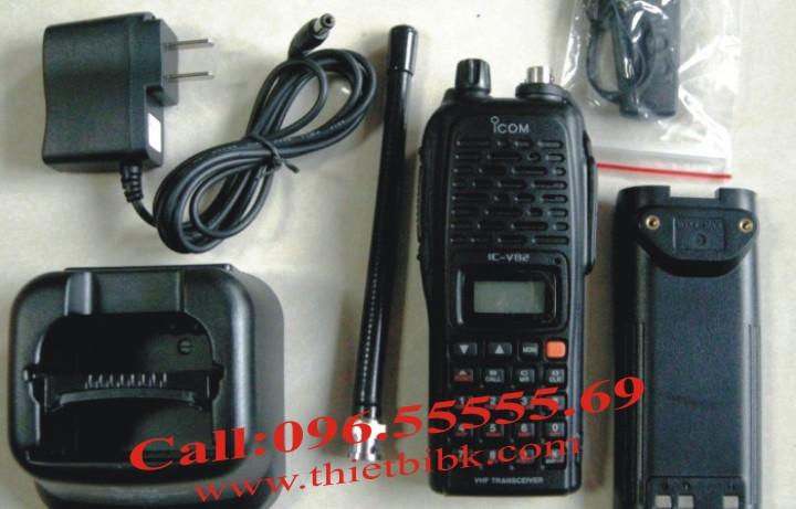 Bộ đàm iCOM IC-V82 VHF dùng cho khu công nghiệp