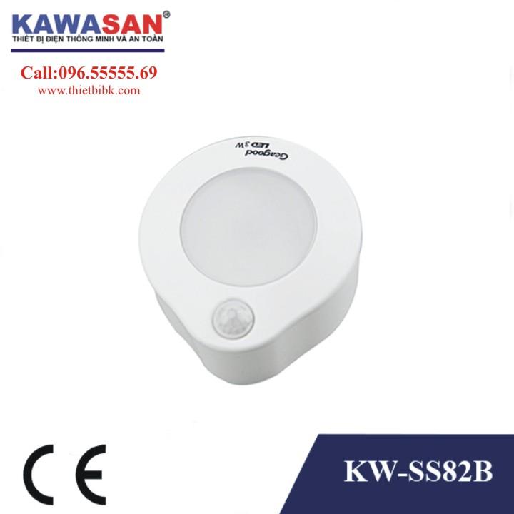 Đèn Led cảm ứng chuyển động phích cắm Kawa SS82B 3w siêu tiết kiệm điện