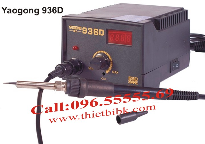 Máy hàn thiếc Yaogong 936D sử dụng công nghệ kỹ thuật số hiện đại