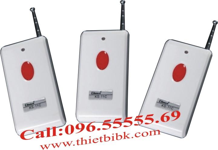 Nút báo động khẩn cấp KS-11D là nút ấn khẩn cấp không dây