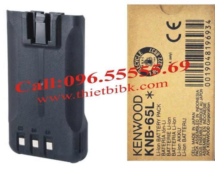 Pin Bộ đàm Kenwood Li-ion KNB-65L dung lượng cao 1520 mAh
