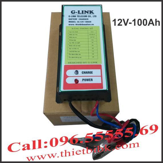 BộSạc ắc quy tự động G-LINK 24V-100Ah