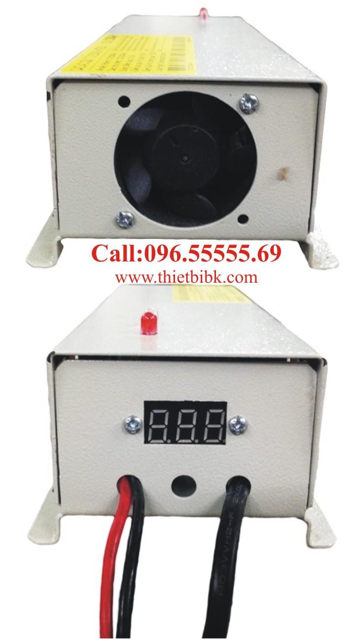 Bộ Sạc ắc quy tự động HITECH POWER V 12V-100Ah dùng cho gia đình, cửa hàng, công ty