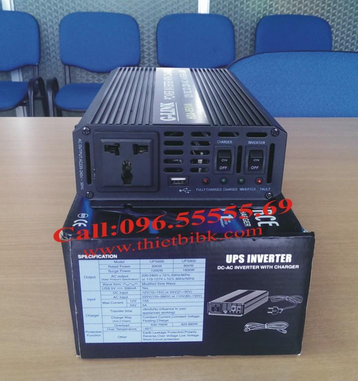 Bộ kích điện và sạc ắc quy tự động G-LINK HDA-850VA 600W dự phòng nguồn tự động