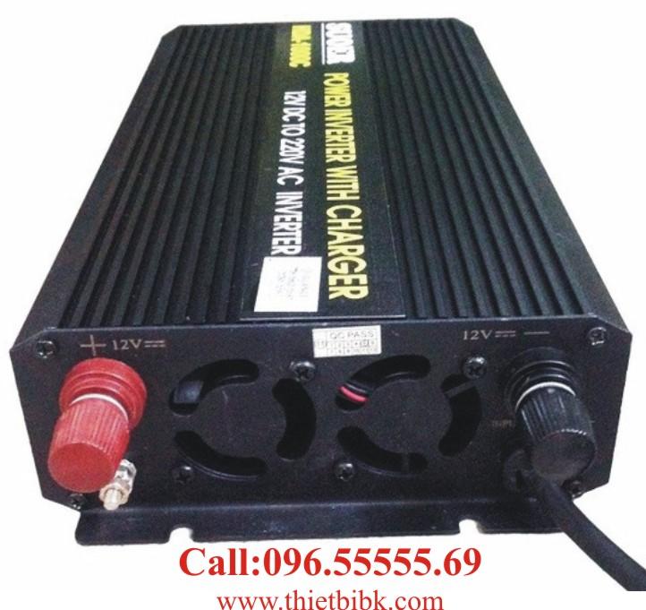 Bộ kích điện và sạc ắc quy tự động SUOER HDA-1000C 750W nạp ắc quy tự động