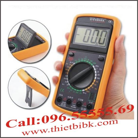 Đồng hồ vạn năng điện tử DT-9205A