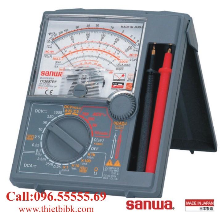 Đồng hồ vạn năng SANWA YX360TRF Analog Multitester chỉ thị kim