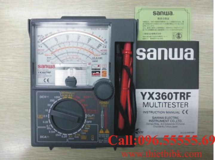 Đồng hồ vạn năng SANWA YX360TRF Analog Multitester sản xuất tại Nhật Bản