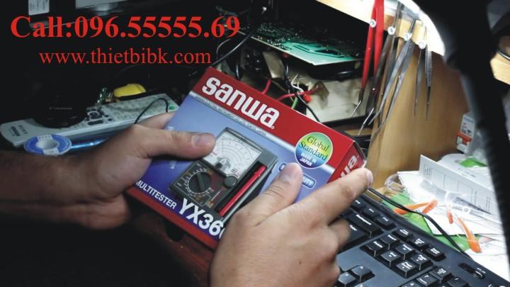 Đồng hồ vạn năng SANWA YX360TRF Analog Multitester dùng cho trung tâm bảo hành thiết bị điện tử