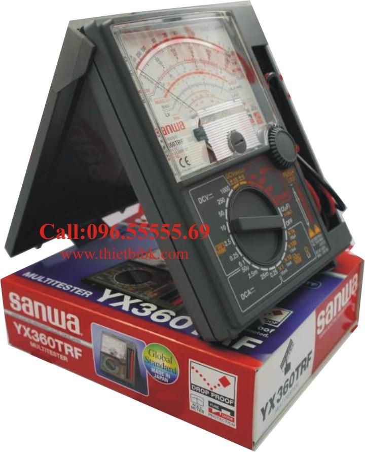 Đồng hồ vạn năng SANWA YX360TRF Analog Multitester sử dụng cho thợ sửa chữa điện tử