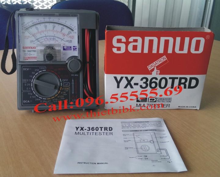 Đồng hồ đo Sannuo YX 360TRD có hộp bảo vệ đựng que đo