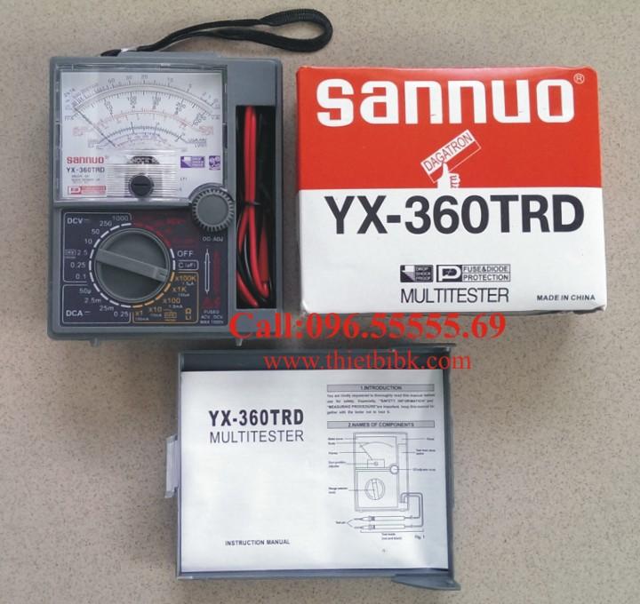 Đồng hồ đo Sannuo YX 360TRD dùng cho các trung tâm dậy nghề điện tử, điện dân dụng