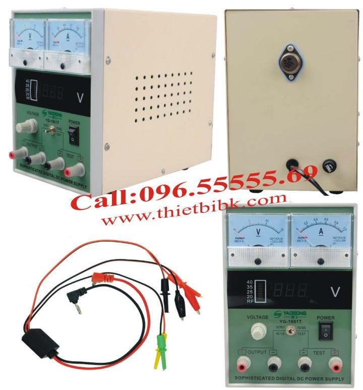 Đồng hồ đo dòng và báo sóng Yaogong Yg-1501T có thiết kế nhỏ gọn, tiện dụng