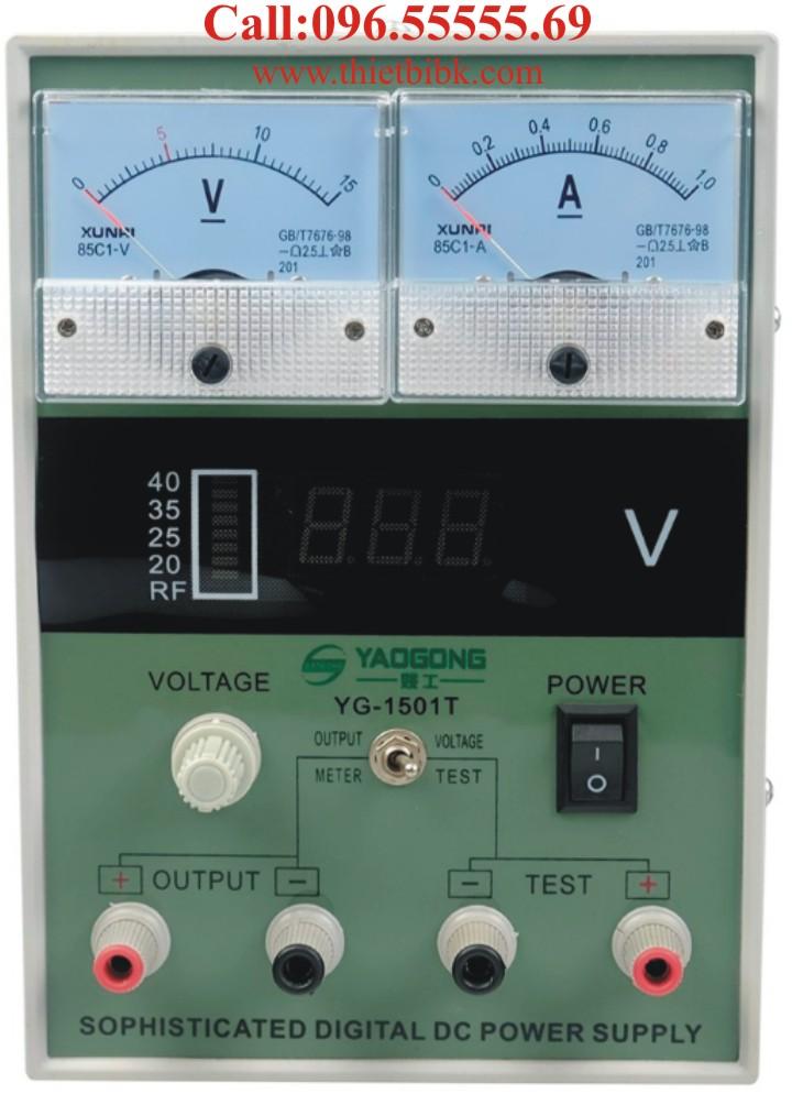 Đồng hồ đo dòng và báo sóng Yaogong Yg-1501T