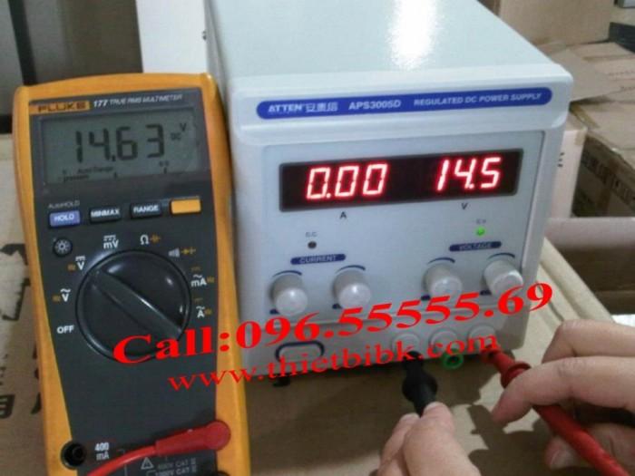 Máy cấp nguồn Atten APS 3005D- Đo chính xác đến 99,9%