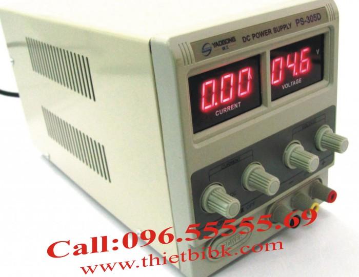 Máy cấp nguồn Yaogong PS-305D cho thông số cực kỳ chính xác