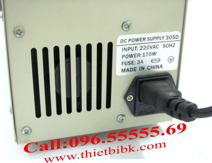 Quạt tản nhiệt của Máy cấp nguồn Yaogong PS-305D