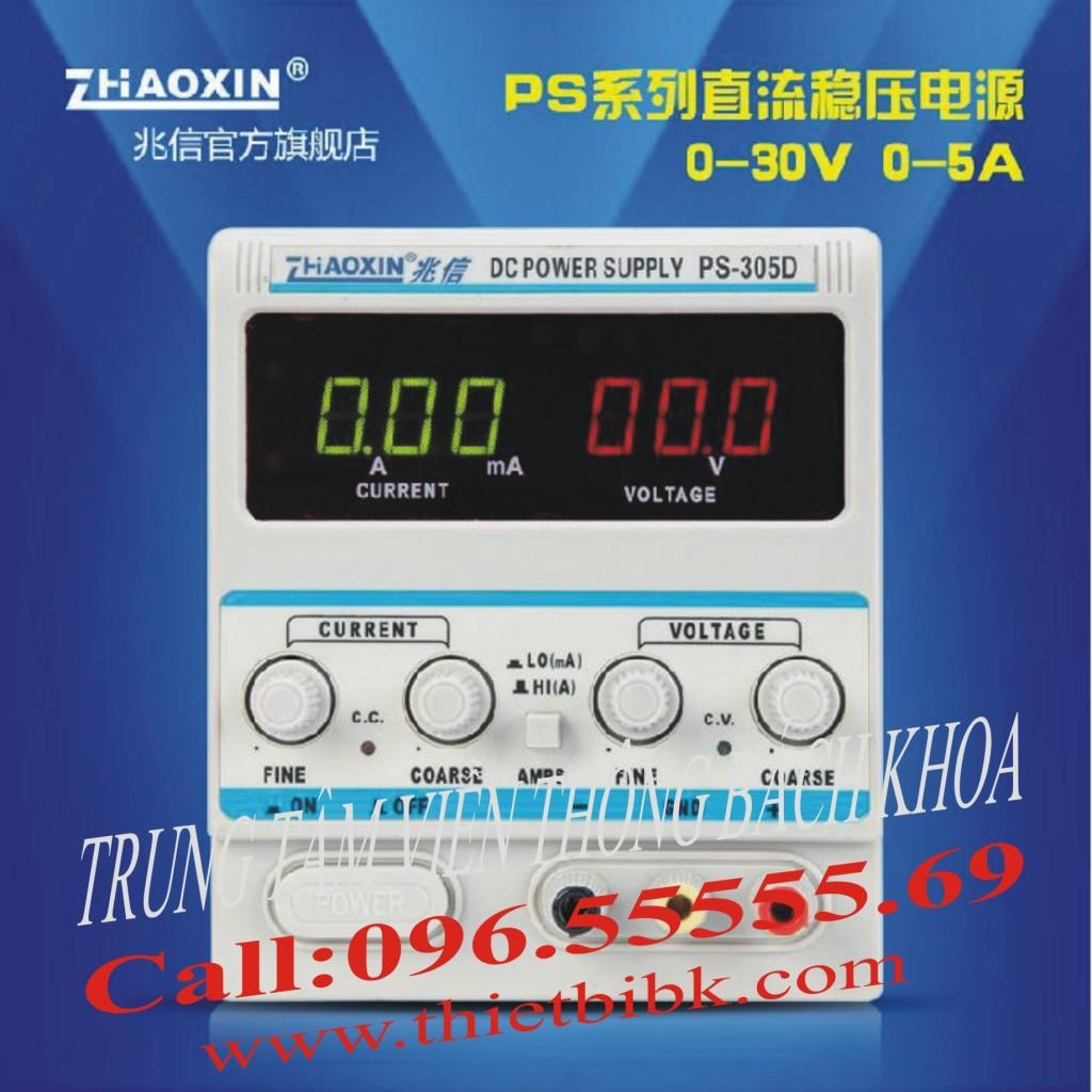 Máy cấp nguồn Zhaoxin PS-305D