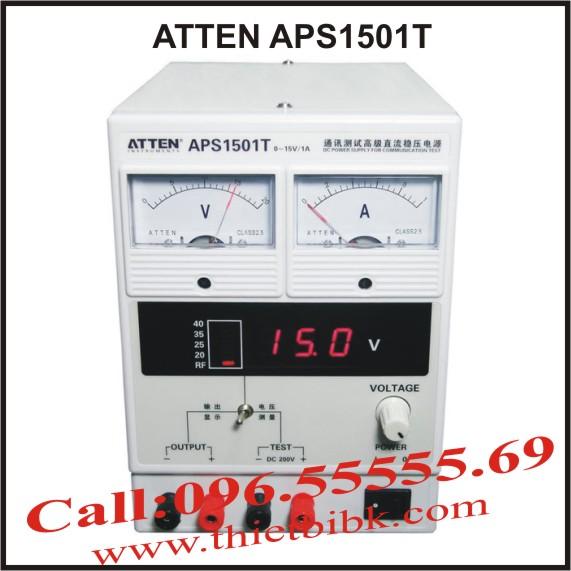 Máy cấp nguồn và đo sóng ATTEN APS1501T