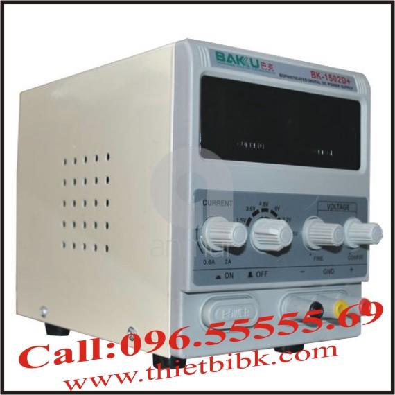 Bộ cấp nguồn BAKU BK-1502D +