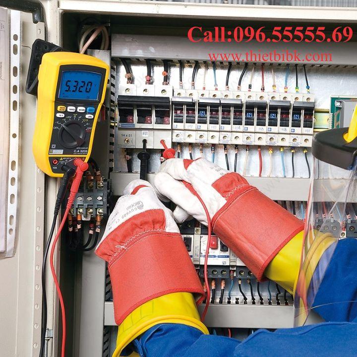 Đồng hồ vạn năng hiển thị số Chauvin Arnoux CA 5233 dùng trong ngành điện điện tử