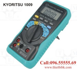 Đồng hồ vạn năng hiển thị số KYORITSU 1009 600V 10A dùng cho thợ sửa chữa điện thoại