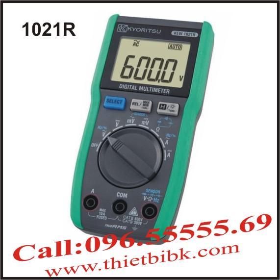 Đồng hồ vạn năng hiển thị số Kyoritsu 1021R 6000V 10A