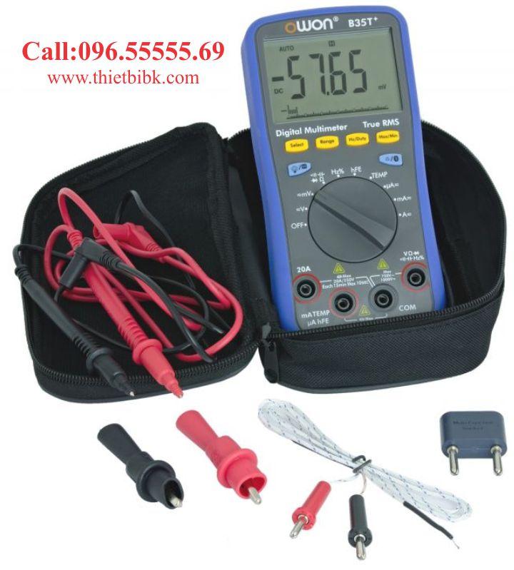 Đồng hồ vạn năng hiển thị số Owon B35T plus Bluetooth dùng cho thợ sửa chữa điện tử