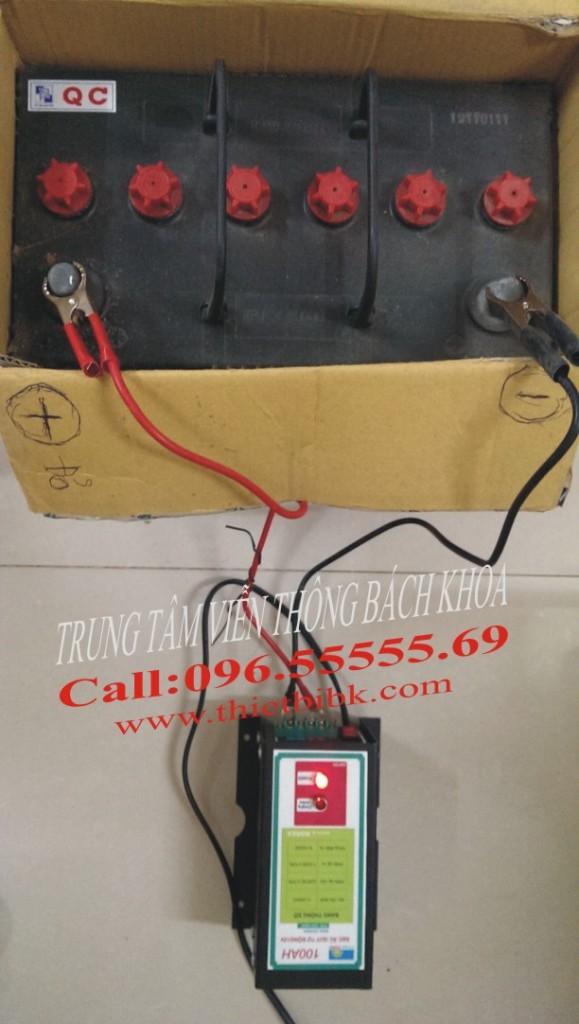 May sac acquy tu dong Hitech Power 12V-100Ah sac 75Ah