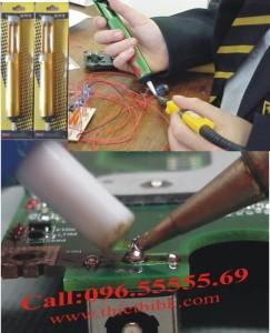 Sử dụng ống hút thiếc Solder Vacuum M 135