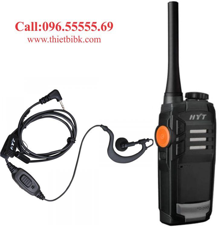 Tai nghe bộ đàm HYT TC 320 dùng cho nhà hàng khách sạn
