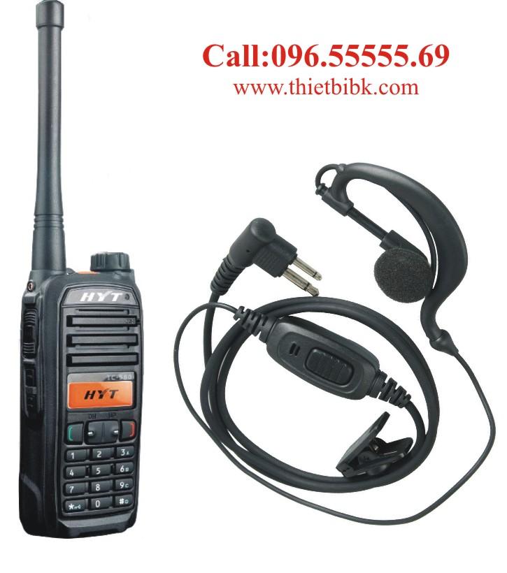 Tai nghe bộ đàm HYT TC 580 dùng cho khu công nghiệp