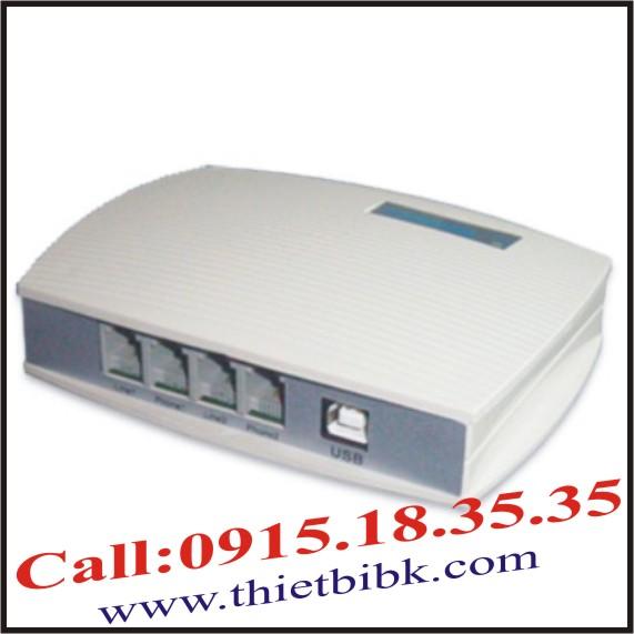 Box ghi âm điện thoại 2 line Tansonic TX2006P112 USB