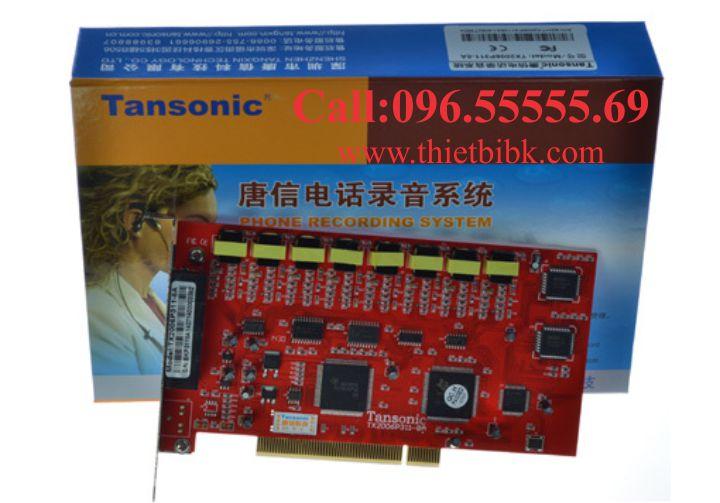CARD GHI ÂM ĐIỆN THOẠI 8 LINE TANSONIC TX2006P311-8