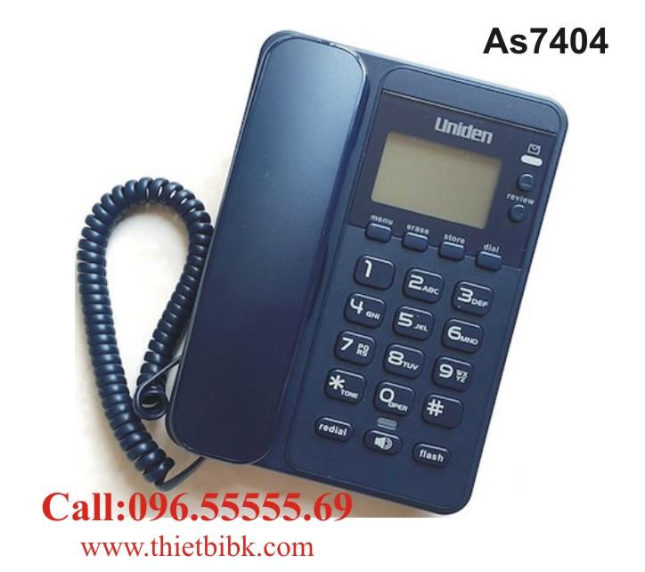 Điện thoại để bàn Uniden AS7404 dùng cho gia đình