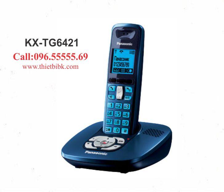 Điện thoại kéo dài Panasonic KX-TG6421 dùng cho cửa hàng