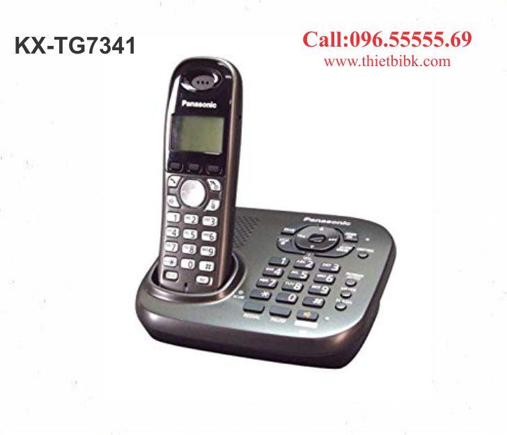 Điện thoại kéo dài Panasonic KX-TG7341 dùng cho gia đình