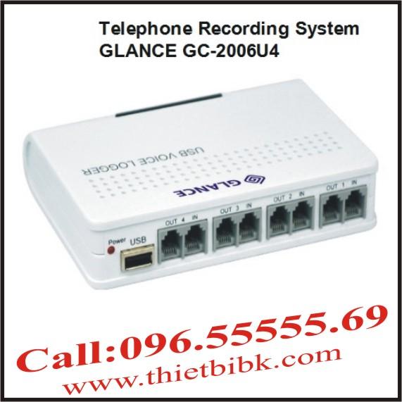 May-ghi-am-dien-thoai-4-line-GLANCE-GC2006U4-USB 1